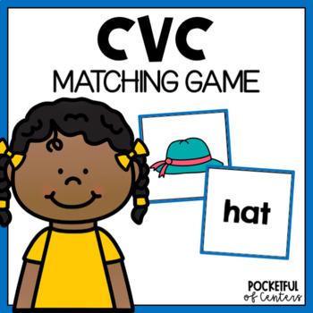 CVC Words Memory Game