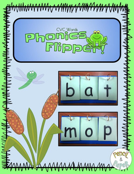 CVC Words Phonics Flipper!