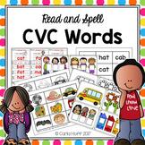 CVC Words - Read & Spell!