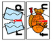 CVC Words:  Short I Three Piece Puzzles