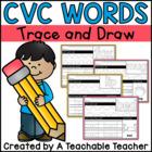 CVC Words Tracing