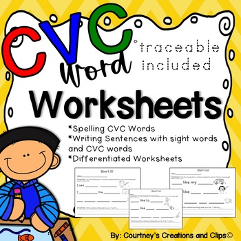 CVC Words and Sight Words