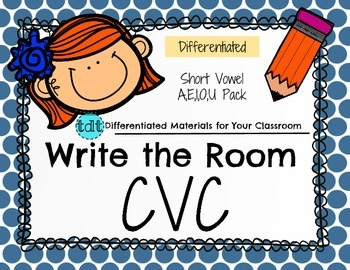 CVC Write the Room Freebie
