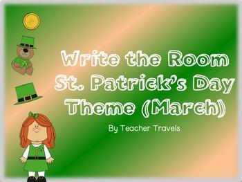 CVC and CVCC Write the Room March Theme