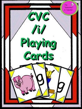 CVC /i/ Playing Cards
