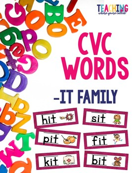 CVC -it Words