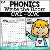 CVCC - CCVC Hide and Find with Activities
