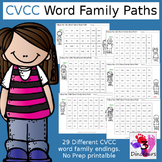 CVCC Word Family Word Paths