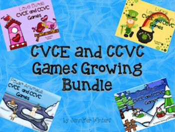 CVCE and CCVC Games Growing Bundle