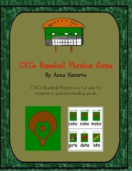 CVCe Baseball Phonics Game