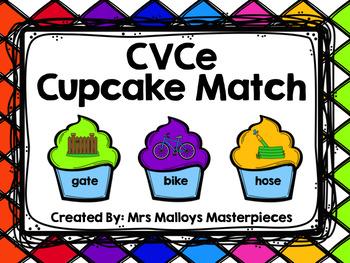CVCe Cupcake Match