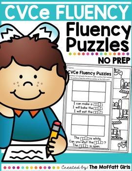 CVCe Fluency Puzzles