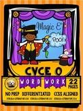 CVCe Long O Word Work No Prep Packet