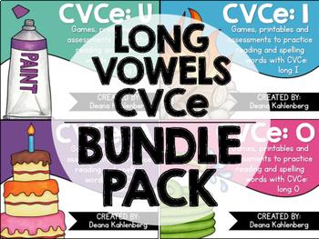 CVCe Long Vowels {Bundle Pack}
