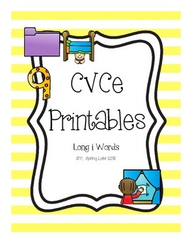 CVCe Printables - Long i
