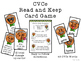 CVCe Silent E Read and Keep Card Game - Winter Gingerbread