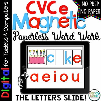 CVCe Word Work for Google Use (Magic E)