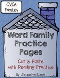 CVCe -ace Family: Word Family Cut, Paste & Read Practice