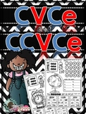 CVCe and CCVCe Word Family Printables (Sound Mapping; Find