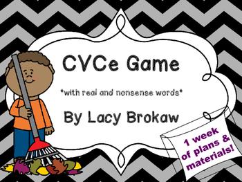 CVCe game v_e vce