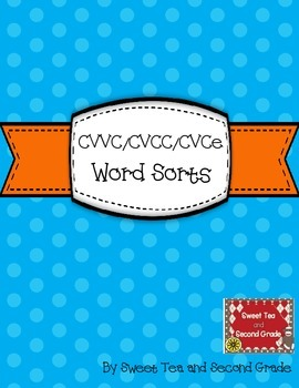 CVCe/CVVC/CVCC Word Sort Set