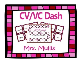 CV/VC Dash