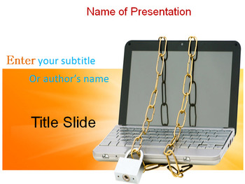 CYBER SECURITY POWERPOINT TEMPLATE