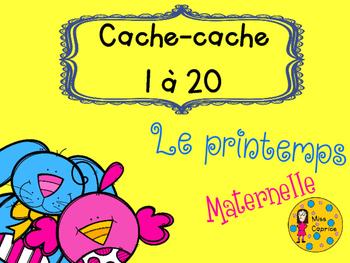 Cache-cache - Le printemps - Maternelle