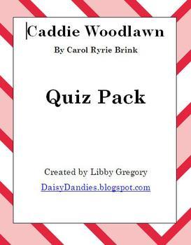 Caddie Woodlawn Quiz Pack