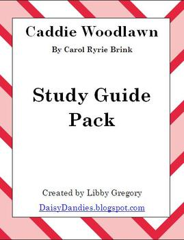 Caddie Woodlawn Study Guide Pack