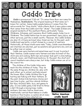 Caddo Native American Tribe of Louisiana Informational Article