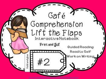 Cafe' Comprehension Interactive Notebook Lift the Flap Pri