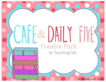 {Freebie} Cafe & Daily 5 Posters