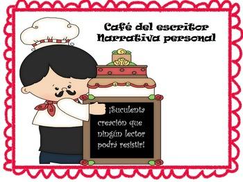 Cafe del escritor: Narrativa Personal