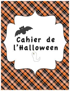 Cahier d'activités d'Halloween/ French Halloween activitie