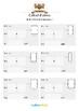 Cahier de maths - Longueurs, périmètres, aires - Classe de CM2
