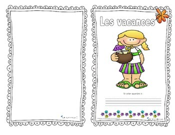 Cahier vacances 1er cycle / end of year