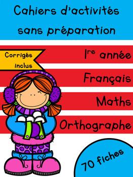 Cahiers français et maths - Janvier - 1re année