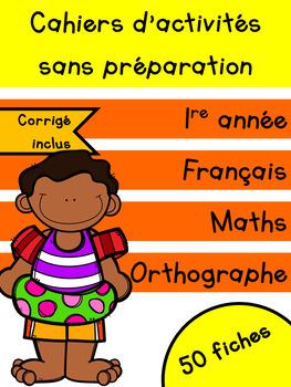 Cahiers français et maths - Juin - 1re année
