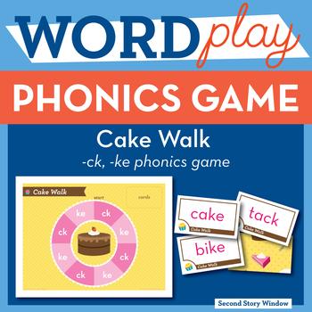 Cake Walk Sounds of K Phonics Game