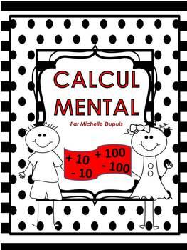 Calcul mental en mathématiques  cartes écaires   (français