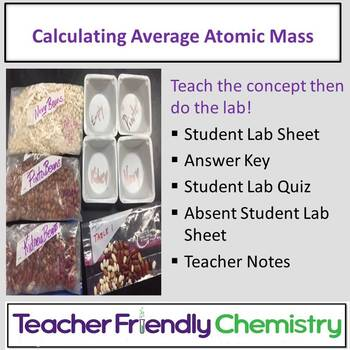 Chemistry Lab: Calculating Average Atomic Mass