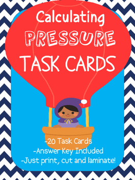 Calculating Pressure Task Cards