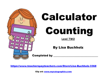 Calculator Skip-Counting: Level Two