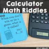 Calculator Word Fun Math Game Task Cards