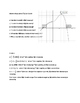 Calculus - Analyzing Graph of the First Derivative