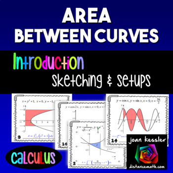 Calculus Area Between Curves Introduction
