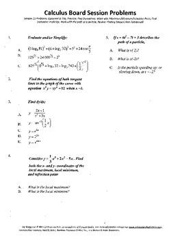 Calculus Board Sessions,Session 11, derivatives,Maximum.mi