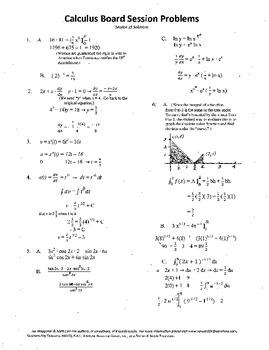 Calculus Board Sessions,Session 15,Evaluate Integrals,posi