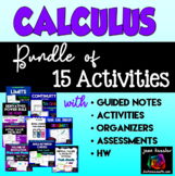Calculus Bundle of Activities and Resources